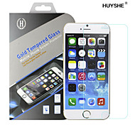 HUYSHE Easy Installation 0.33mm Anti-Fingerprint Anti-Scratch Tempered Glass Screen Protector for iPhone 6