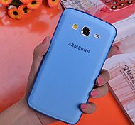 For Samsung Galaxy Case Ultra-thin / Transparent Case Back Cover Case Solid Color PC Samsung Grand 2