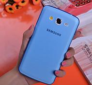 Für Samsung Galaxy Hülle Ultra dünn / Transparent Hülle Rückseitenabdeckung Hülle Einheitliche Farbe PC Samsung Grand 2