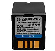 - für JVC - Li-Ion - BN-VF733 -JVC GR-D240, GRD240,JVC GR-D244, GRD244,JVC GR-D246, GRD246,JVC GR-D247, GRD247,JVC GR-D250, GRD250,JVC