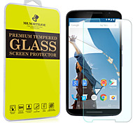 Mr.northjoe® Tempered Glass Film Screen Protector for Google Nexus 6 / Motorola Nexus 6