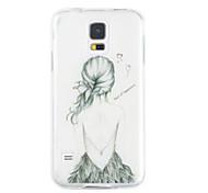 farbige Zeichnung Silicagel weiche Tasche für Samsung Galaxy s5