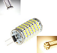 1 pcs G4 12W 120X SMD 3528 1200LM 2800-3500/6000-6500K Warm White/Cool White Corn Bulbs DC 12V