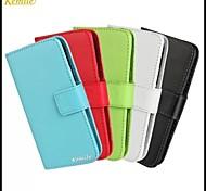 cuir kemile portefeuille de luxe cas PU de style livre pour Samsung Galaxy Ace 4 g357fz (couleurs assorties)