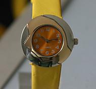 Women's Analog Alloy Case Round Dial PU Band Japanese Quartz Watch Women's Watch Women Fashion Watch Gift Watch