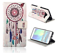 Wind Bell Pattern PU Leather Full Body Case with Card Slots And Stand Case for  Samsung Galaxy A3