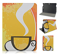 10.1 Inch Cup Pattern PU Leather Stand Case for Asus MeMO Pad 10-ME103K
