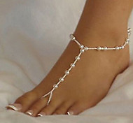 HUALUO®Korean Version of the New Imitation Pearl Anklet