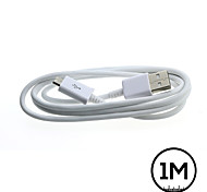 1M White Micro USB Data Sync Charger Cable