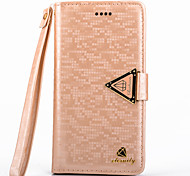 5C Case Luxurious Diamond PU Leather Full Body Case with Kickstand and Card Slot for iPhone 5C(Assorted Colors)