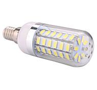 12W E14 Bombillas LED de Mazorca T 60 SMD 5730 1200 lm Blanco Cálido / Blanco Fresco AC 100-240 / AC 110-130 V 1 pieza