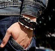 Wood Nylon Bracelet Vintage Bracelets