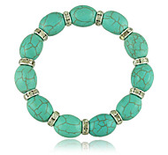 Classic Ethnic Style Turquoise And Tibetan  Bracelets for Women Jewelry