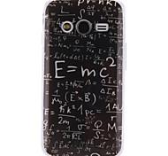 Para Funda Samsung Galaxy Diseños Funda Cubierta Trasera Funda Palabra / Frase TPU Samsung Ace 4