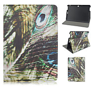 10.1 Inch Feather Pattern PU Leather Stand Case for Asus MeMO Pad 10-ME103K