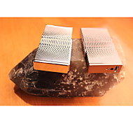 Creative Metal Diamond Grinding Wheel Lighters Gold Silver