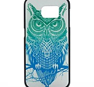 YMX-Painted owl Pattern Design Pattern Protective Hard Case for Samsung GALAXY S6 G9200