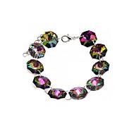 Women Bracelet Bangle Multi-color Crystal Party Fashion