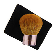 Lashining Professional Large Powder Kabuki Brush For Face Beauty Makeup Tool Gift One Black Flannelette