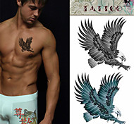 Safe Non-toxic Eagle Temporary Tattoo Sticker*1pc