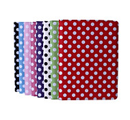 9.7 Inch 360 Degree Rotation Round Dots Pattern with Stand Case for iPad Air 2/iPad 6(Assorted Colors)