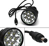 7x CREE T6 LED 12000 Lm Bike Bicycle Cycling Front Light Headlight Headlamp