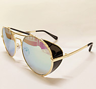 Sunglasses Men / Women / Unisex's Retro/Vintage / Modern / Fashion Browline Silver / Gold Sunglasses Full-Rim