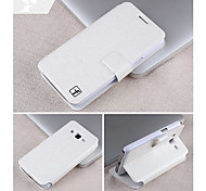 Smooth Silk Pattern with Card Bag PU Full Body Case for Samsung Galaxy Trend 3 G3502U(Assorted Color)