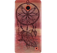 For Nokia Case IMD Case Back Cover Case Dream Catcher Soft TPU Nokia Nokia Lumia 630