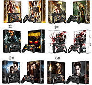 Fashion Skin Sticker For Xbox 360E Console + Free Controller Vinyl Decal