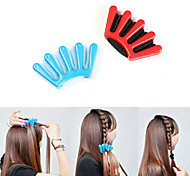 DIY Fashion Styling Hair Braids Braider Hair Styling Tool (Random Color)