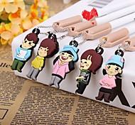 Chinese Dad Cartoon Gel Pen(Random Color)