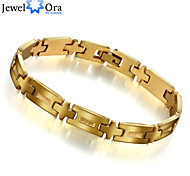 New 18k Gold Plated Bracelet For Men Jewelry accessories Wholesale Thick Rock Chain link Bracelet Men