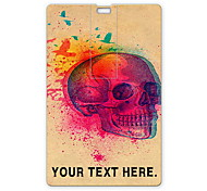 Personalized USB Flash Drive Skull and Birds Design 64GB Card USB Flash Drive