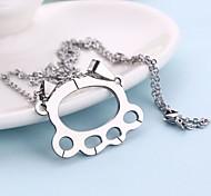 Delicate Fist Shape Necklace