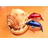Creative Dolphins Modelling Classic Cigarette Lighter Blue And Red
