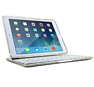 DGZ Ultra-Slim Bluetooth Wireless Aluminum Keyboard Cover for iPad air