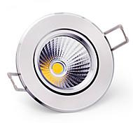 5pcs morsen® 6w 400-500lm apoyo mazorca regulable llevó las luces del techo llevó las luces de receseed (220v)