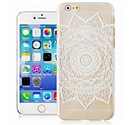 Restoring Ancient Ways Pattern Transparent Phone Case Back Cover Case for iPhone6 Case