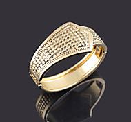 Women's Fashion Punk Gold Alloy Bangles Cuff Bracelets Party Jewelry