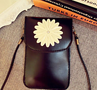 Sunflower Design PU Leather Pouch with A Rope for iPhone 6S Plus/6 Plus