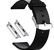 Sikai 2015 nuovi accessori genuino cinturino di cuoio di alta qualità per la vigilanza mela per cinturino iWatch per iWatch