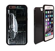 diseño de los coches marca 2 en 1 armadura híbrido de cuerpo completo de doble capa golpes protector de caja delgada para el iphone 6