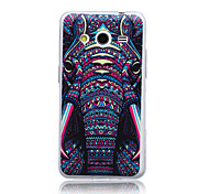 Elephant Pattern TPU Material Soft Phone Case for Samsung Galaxy Core 2 G355H/G3558/G3559