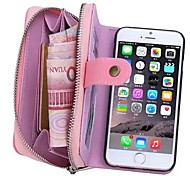 iPhone 7 Plus Special Design Genuine Leather Wallet Case Full Body Cases with Stand for iPhone 6