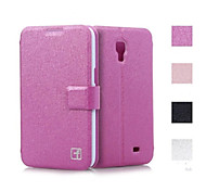 Smooth Silk Pattern with Card Bag PU Full Body Case for Samsung Galaxy Core 4G G3518 (Assorted Color)