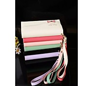 The New Leather Handbag Lady Type Card for IPhone 6(Assorted Colors)