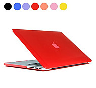 Solid Color Slim Crystal Folio Full Body Case for Macbook Air 11.6 inch (Assorted Colors)