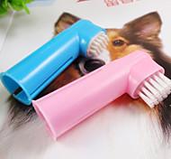 dito spazzolino due abiti per gli animali domestici