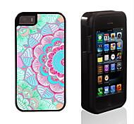 Modern Girl Pattern 2 in 1 Hybrid Armor Full-Body Dual Layer Shock-Protector Slim Case for iPhone 5/5S